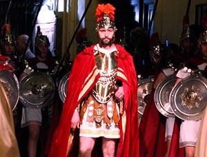 Personajes romanos de la representación